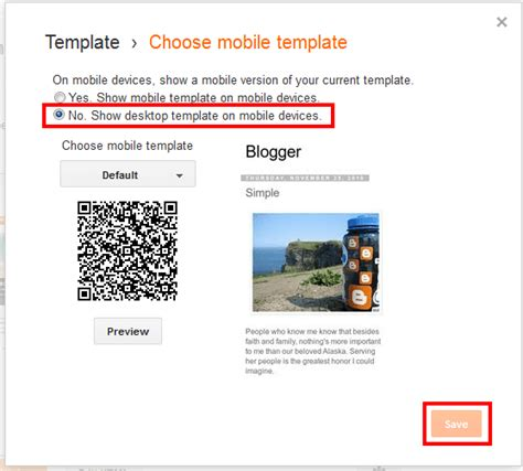 blogger templates for programming blog how to disable or enable mobile template in blogger
