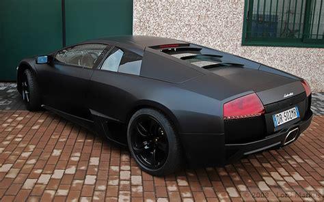 Lamborghini Murcielago Matte Black Lamborghini Murcielago Lp640 Matte Black Flickr