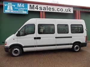 Used Renault Master Vans For Sale Used Renault Master Minibus Vans For Sale At Auto Trader Vans