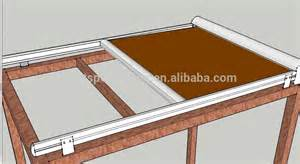 awning glass roof folding sun shade canopy pergola roof awning system