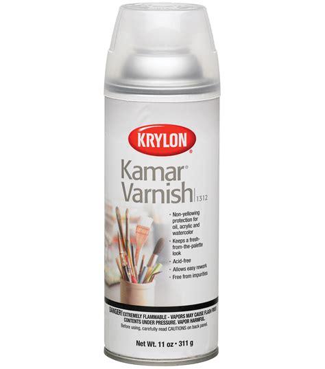spray paint joanns krylon 11 oz kamar aerosol spray 1pk varnish joann