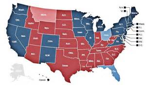 the map of the 2012 presidential election serendipity