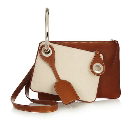 Trovata Canvas And Patent Tote The Bag Snob 4 by Maison Martin Margiela Leather And Canvas Shoulder Bag