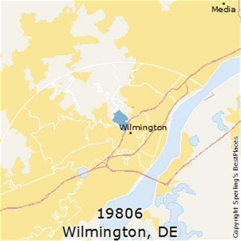 zip code map delaware best places to live in wilmington zip 19806 delaware