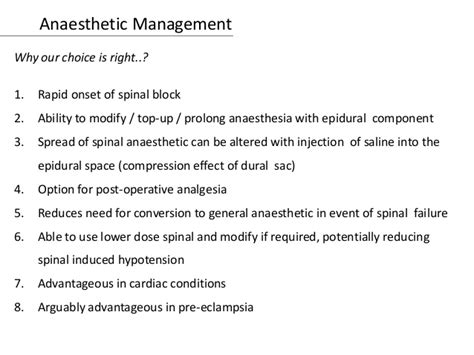 c section anesthesia options mitral stenosis and anesthesia