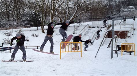 backyard snowboard backyard snowboard park backyard mma fights pictures of