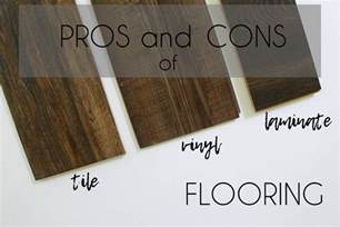 Vinyl Plank Flooring Pros And Cons Pros And Cons Of Laminate Vinyl And Tile Flooring