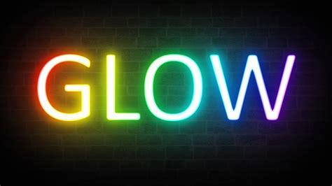 awesome photoshop tutorial 3 neon lights designbent rainbow neon glow text effect photoshop tutorial youtube