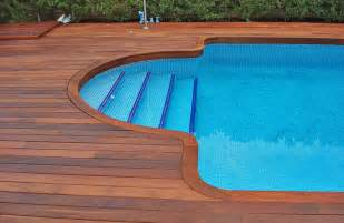 top five inground pool deck ideas for great decoration and styling of swimming pools pool