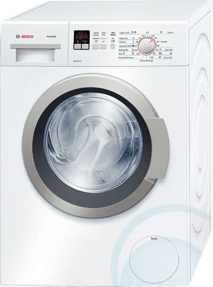 washing machines dryers bosch 7kg silver front loader 7kg front load bosch washing machine wap24160au