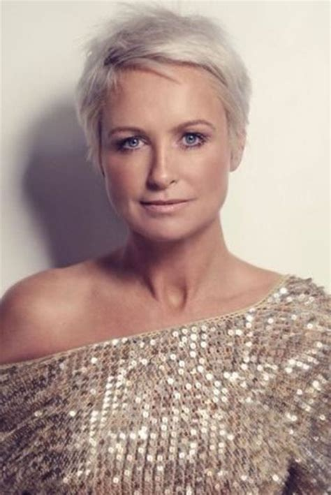 extremely short hair cuts for women with gray hair over 50 years old extremely short hairstyles 2017