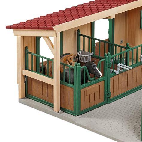schleich stall schleich stable with accessories figures