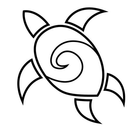 simple tattoo clip art simple turtle clipart