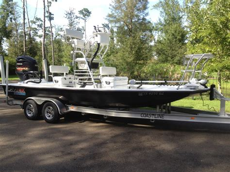 the best quot true quot shallow water redfishing boat the hull - Best Redfish Boats