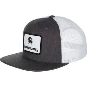 backcountry flat brim patch trucker hat backcountry