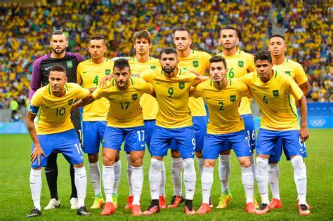 brazil national football team file brazil s football team 2016 olympics jpg