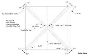 framing a hip roof rafters roof framing geometry pyramid hip roof rafters equal