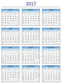 Calendario 2017 Descargar Excel Descarga El Estupendo Calendario 2017 De Excel Total
