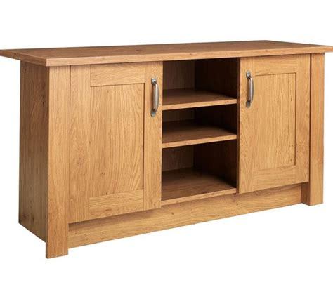 Living Room Storage Argos Buy Collection Ohio 2 Door Tv Unit Low Sideboard Oak