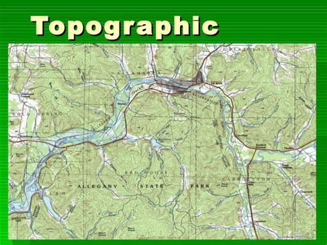 what is a topographic map topographic maps