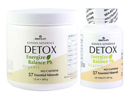 At Home Detox by Home Away Detox Products Comboadama Minerals
