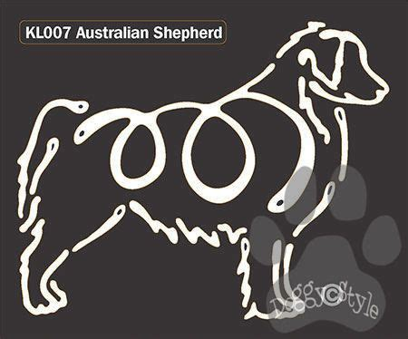 australian shepherd tattoo 1000 images about australian shepherd on car