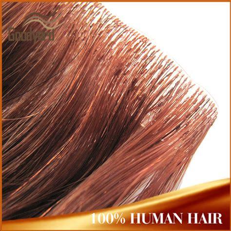 skin weft remy hair extensions pu glue human hair skin weft stick hair