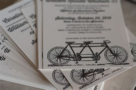 how to make wedding invitations with cardstock bike themed wedding invitations liv cycling australia
