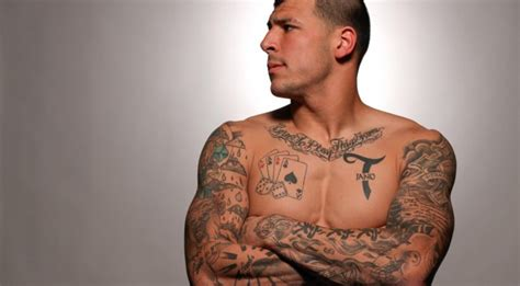 aaron hernandez tattoo judge that aaron hernandez s tats can be used
