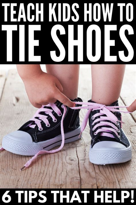 how to teach kid to tie shoes teaching shoe tying style guru fashion glitz