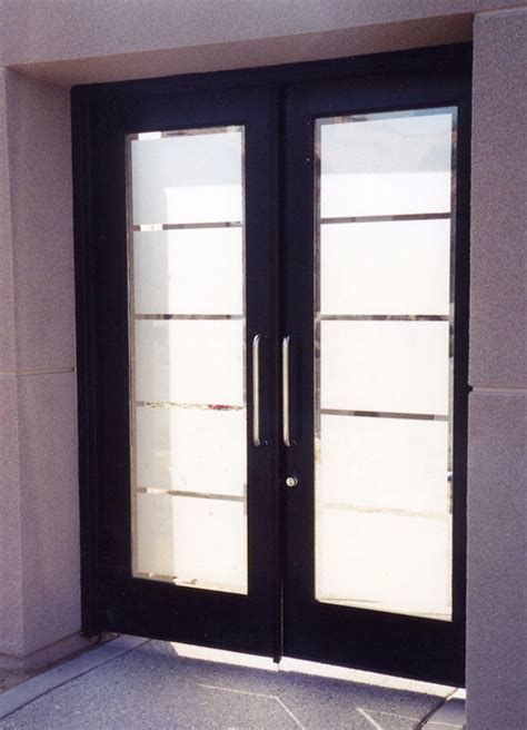Front Door Frosted Glass Glass Doors Frosted Glass Front Entry Doors Grand Frosted Eclectic Entry Other Metro