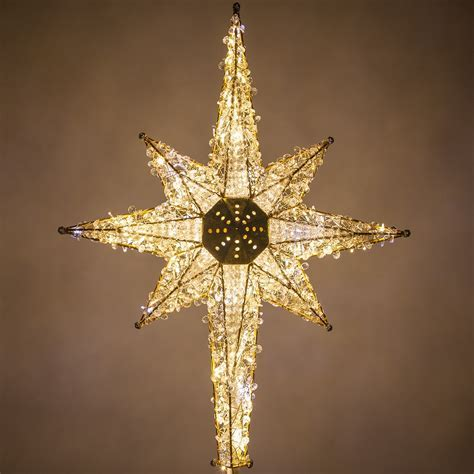 """Christmas Decorations   36"""" Shimmering Warm & Cool White"""