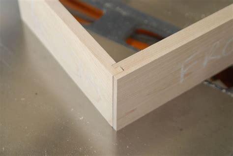 drawer lock joint lock rabbet drawer joint keith larrett