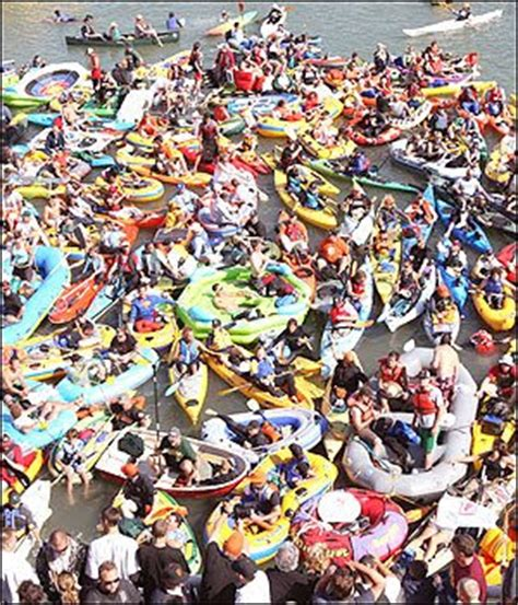 mccovey cove boat party ed meat s sports on the street mccovey cove has lost