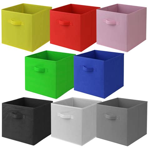 pink canvas storage drawers hartleys square foldable fabric canvas storage box tidy