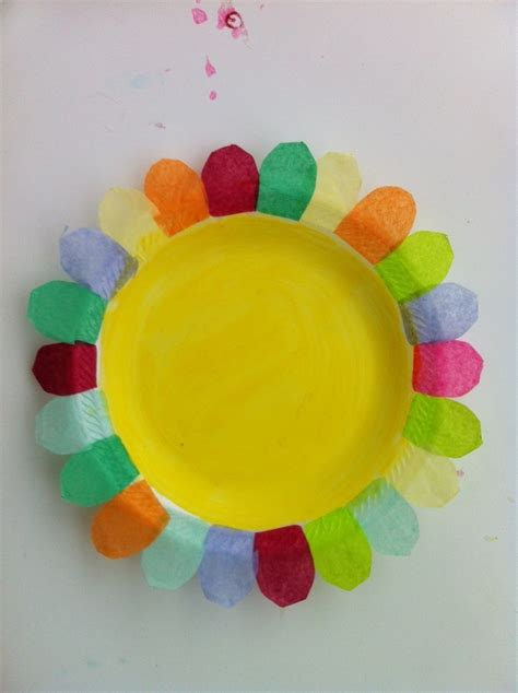 paper plate flower petals of promise ideas