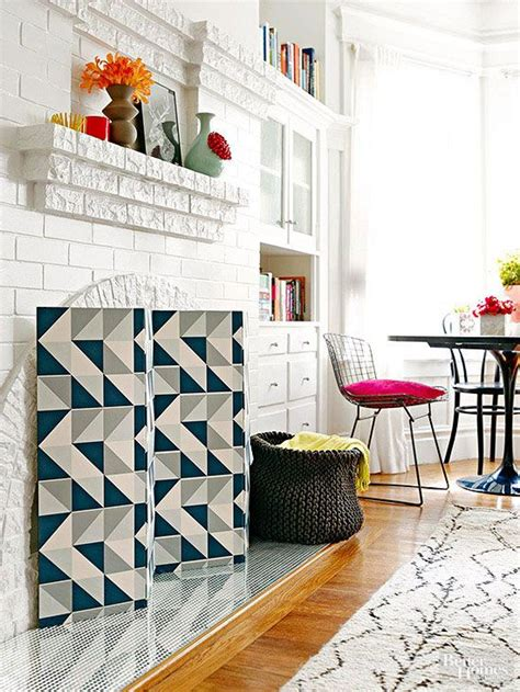 design your own home screen simple upgrades for your fireplace fireplaces easy home decor and screens