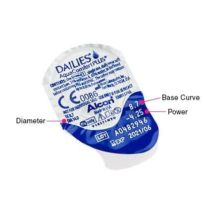dailies aquacomfort plus contact lenses free delivery