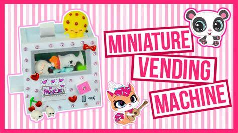 a squishy vending machine miniature vending machine tutorial squishy lps