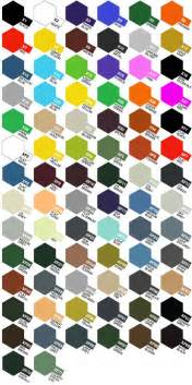 tamiya color chart aces of iron productions inc