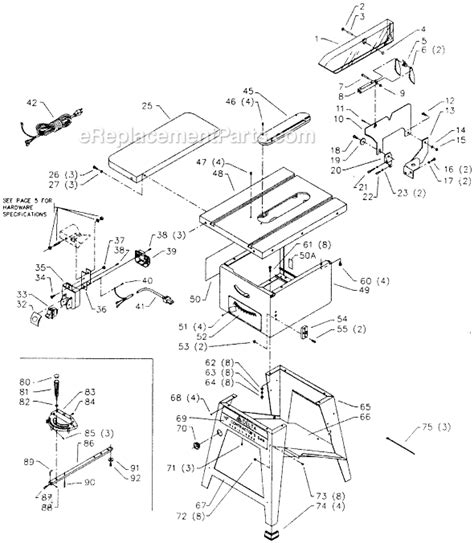 delta 36 475 parts list and diagram type 1