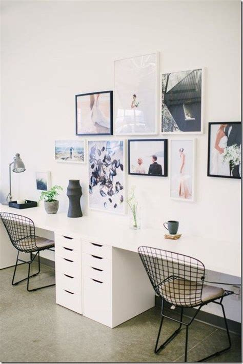 Two Desk Office Layout Two Person Desks Mprnac
