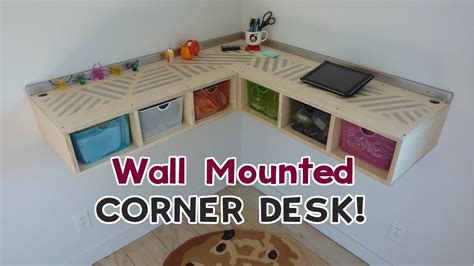 wall mounted standing desk diy wall mounted stand up desk youtube