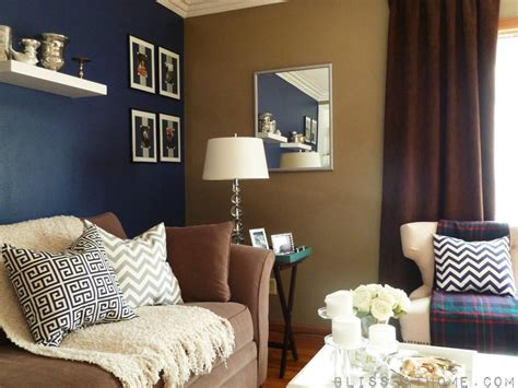 blue accent wall subtle color favorite places spaces pinterest navy
