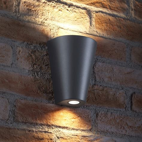 auraglow  outdoor double   wall light