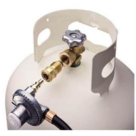 quick connect to p.o.l propane (lp) tank hansen gas mate