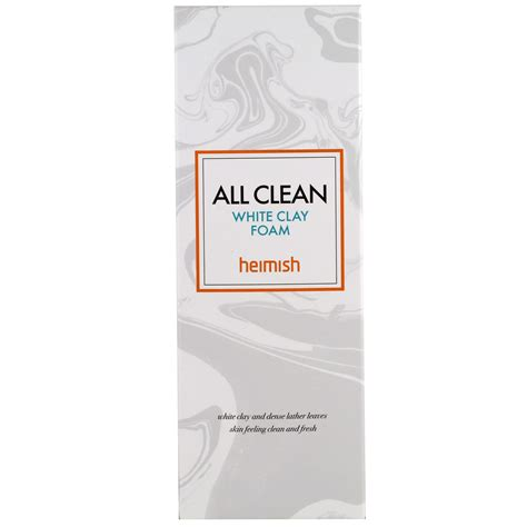 Heimish All Clean White Clay Foam heimish all clean white clay foam 150 g iherb