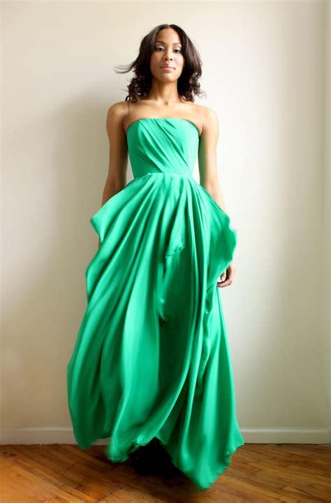 Green Bridesmaid Dress by Emerald Green Bridesmaid Dress Onewed