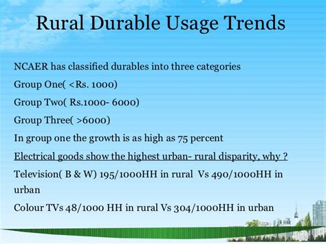 Applied Economics Vs Mba by 4 Ps In Rural Markets Ppt Bec Doms Bagalkot Mba