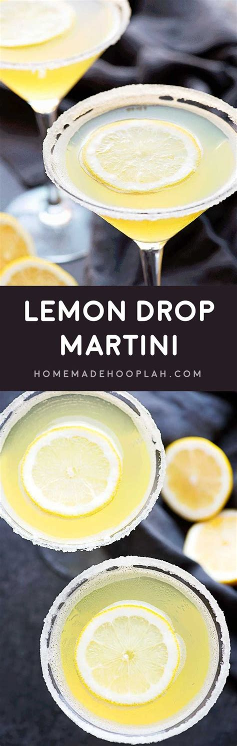 lemon drop martinis lemon drop a deliciously sweet made with